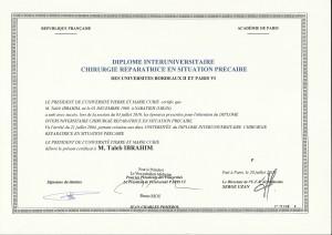 4 - Diplome Dr Taleb2