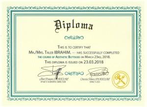 Diplome-DrTaleb